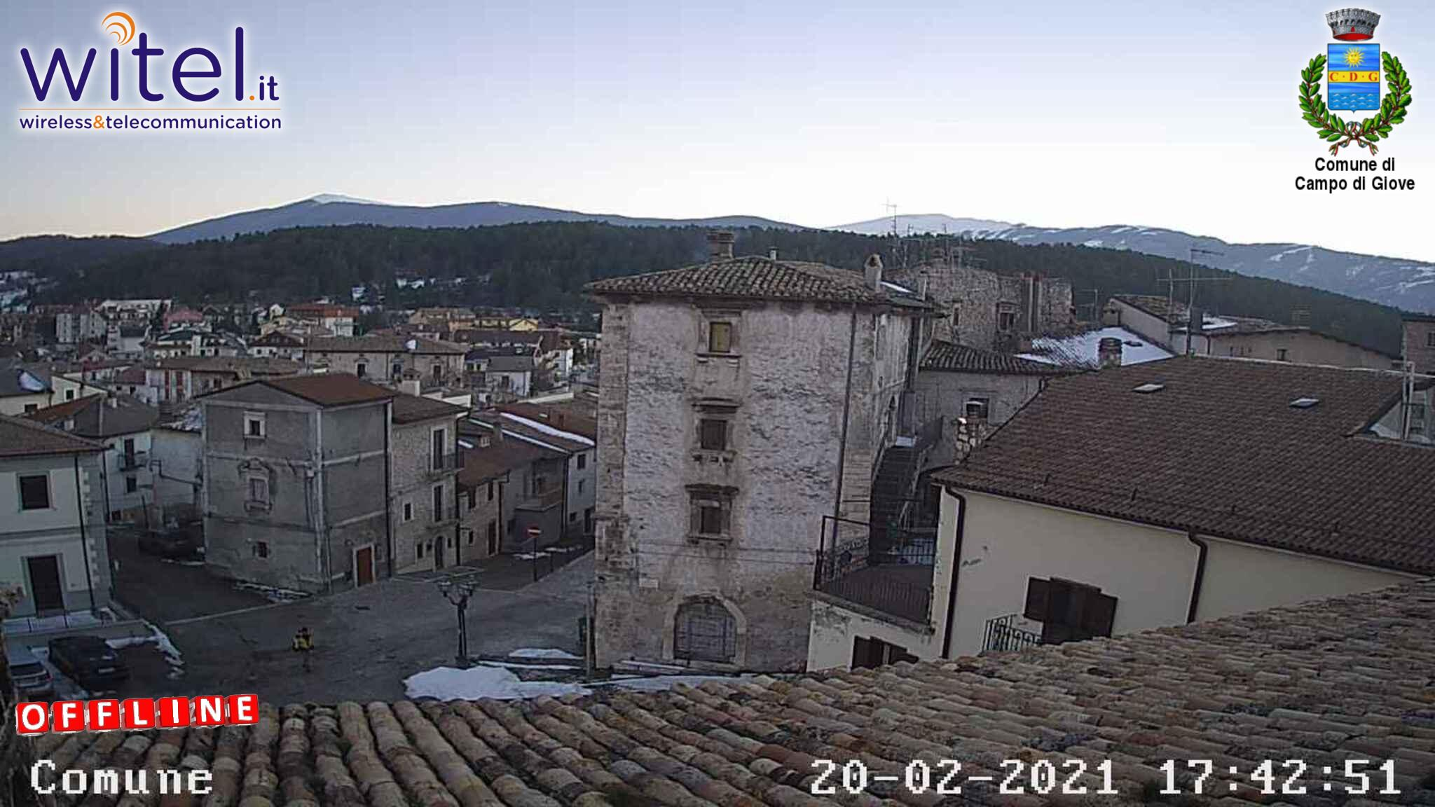webcam Campo Giove