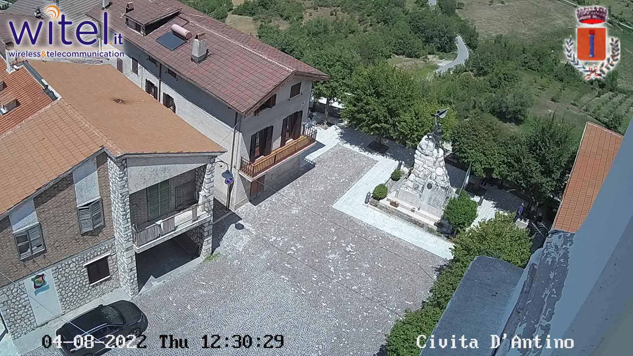 Webcam Civita D'Antino (AQ) 904m slm